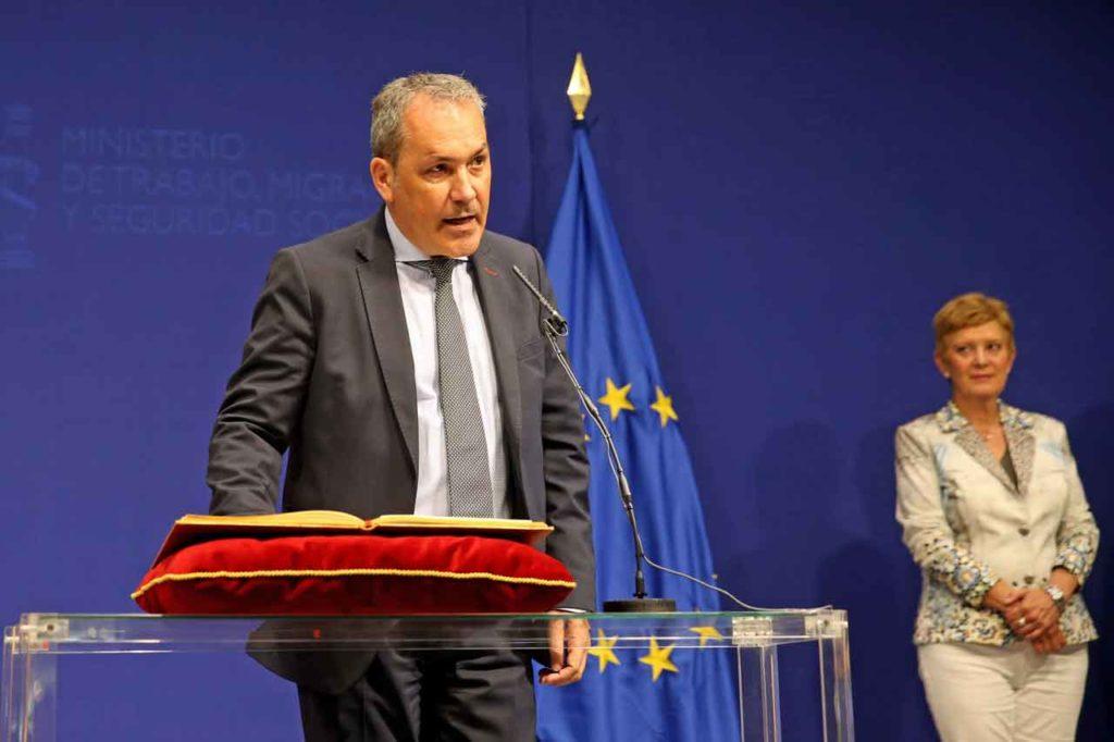 El secretario general de Inmigración y Emigración, Agustín Torres.
