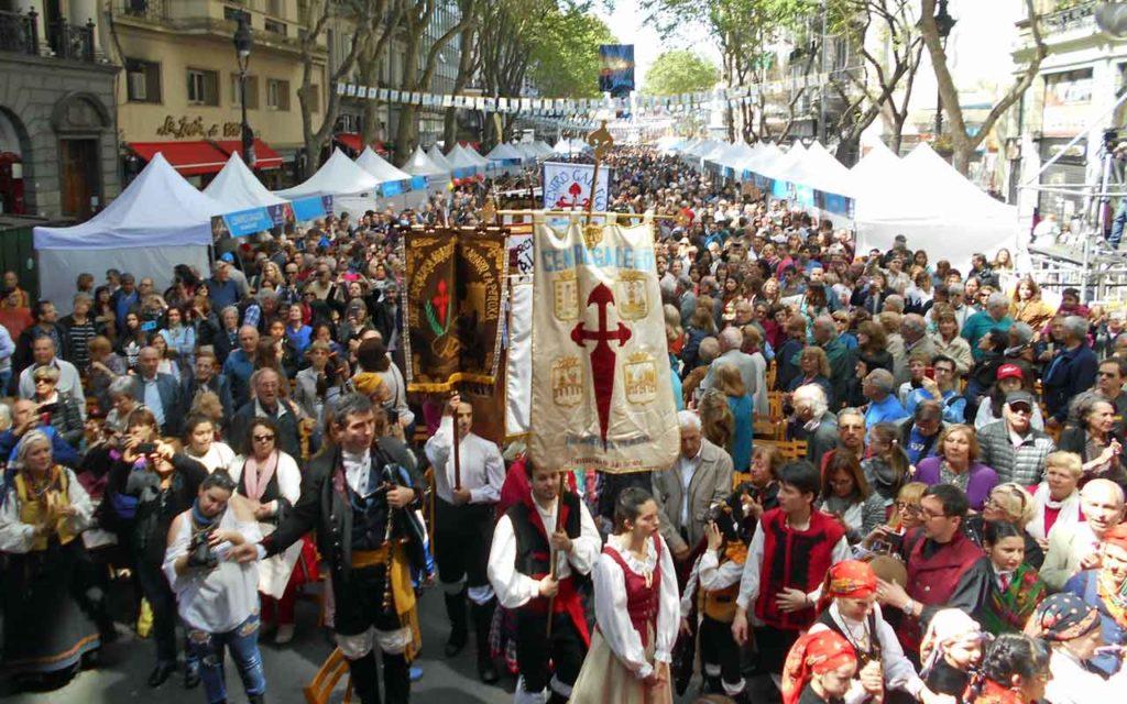 Miles de personas asisten año a año a la celebración del festival, cuya última edición tuvo lugar en octubre del año pasado.