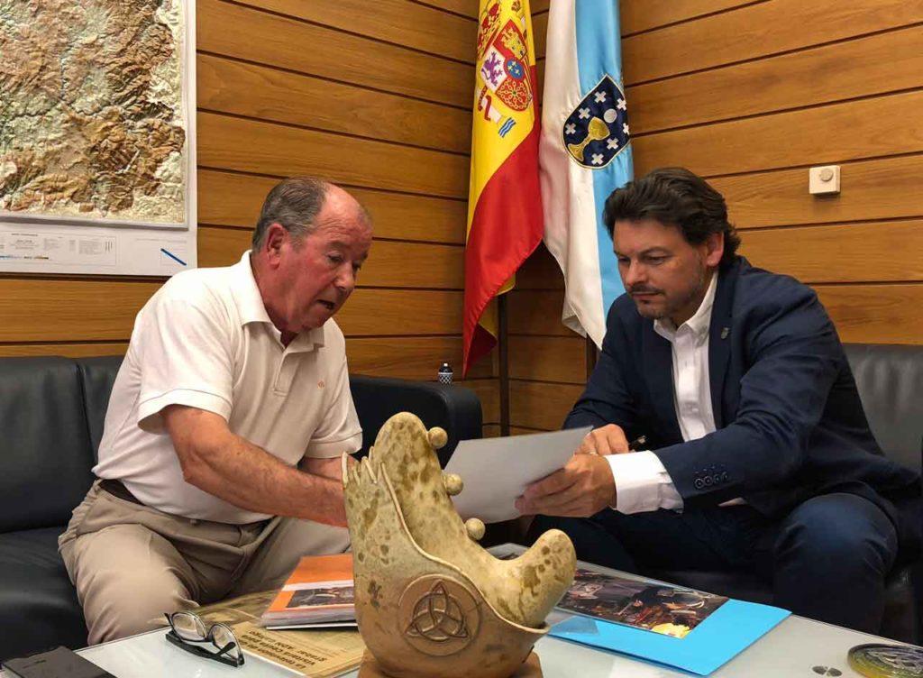 Raimundo Romero y Antonio Rodríguez Miranda.