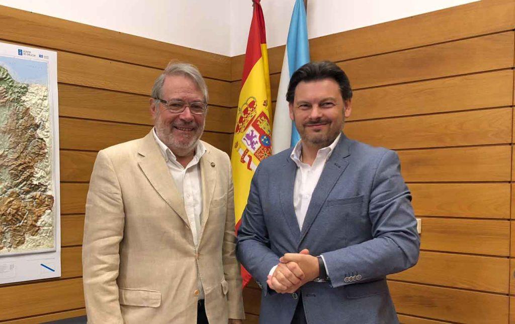 José Alberto Sanchís y Antonio Rodríguez Miranda.