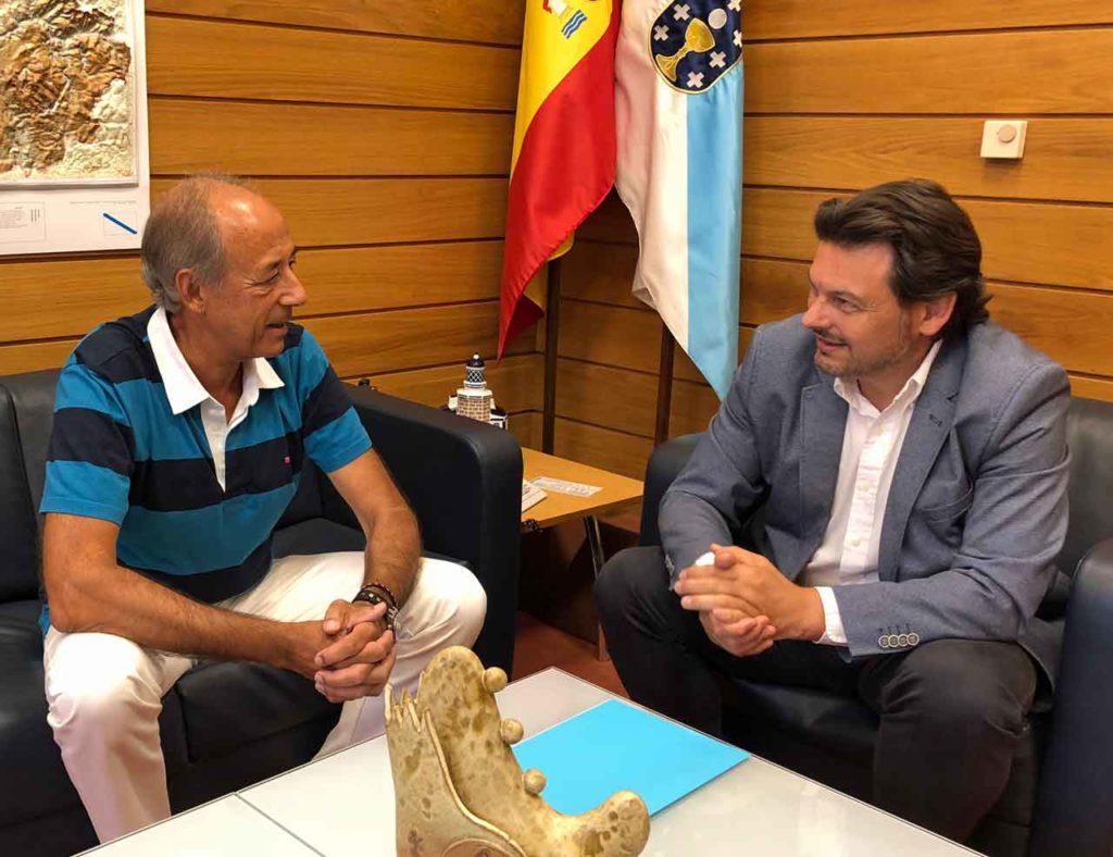 Alfonso Bermúdez Virgós y Antonio Rodríguez Miranda.