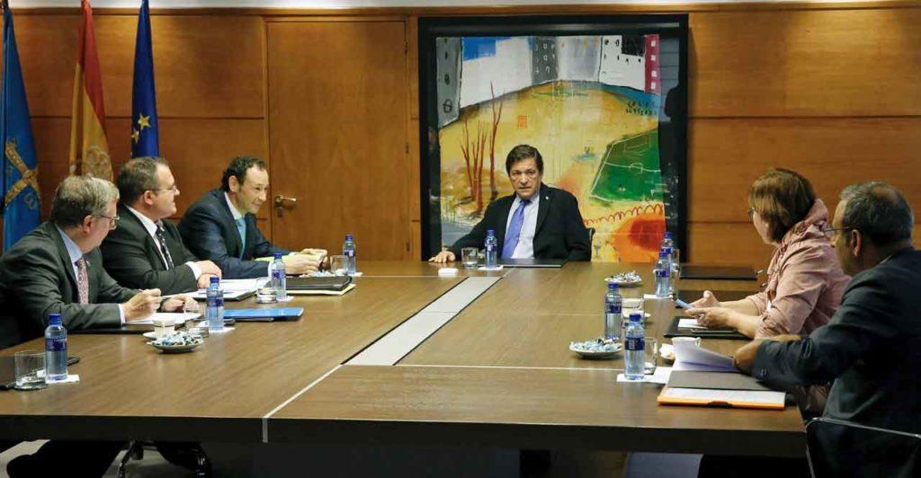 Consejo de Gobierno del Principado de Asturias del pasado 8 de agosto.