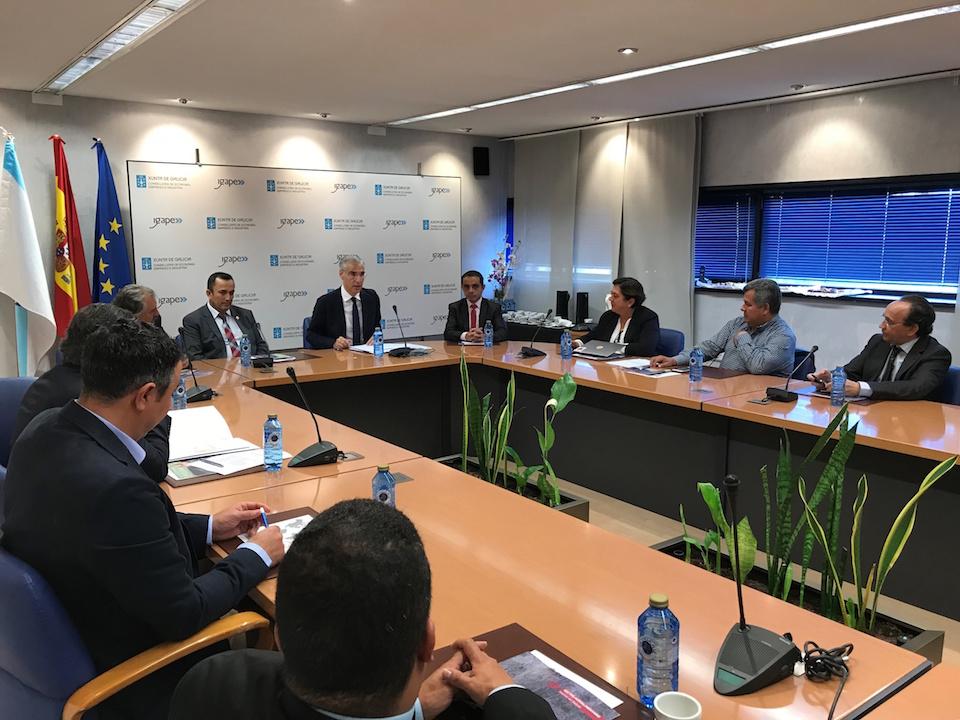 El conselleiro de Economía, Emprego e Industria, Francisco Conde, se reunió con representantes de Caldas, Quindío y Risaralda, tres departamentos de la zona central de este país sudamericano que conforman el Eje Cafetero.
