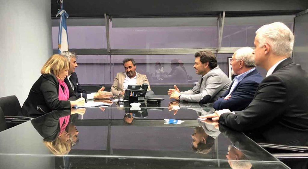 Encuentro entre Antonio Rodríguez Miranda y Horacio Pitrau.