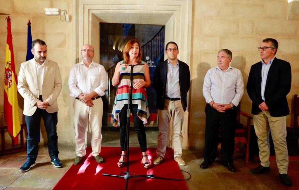 Francina Armengol presentó el Plan de Retorno del Talento.