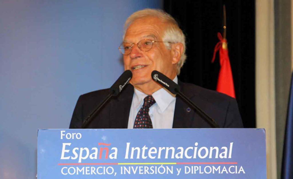 Intervención de Josep Borrell.