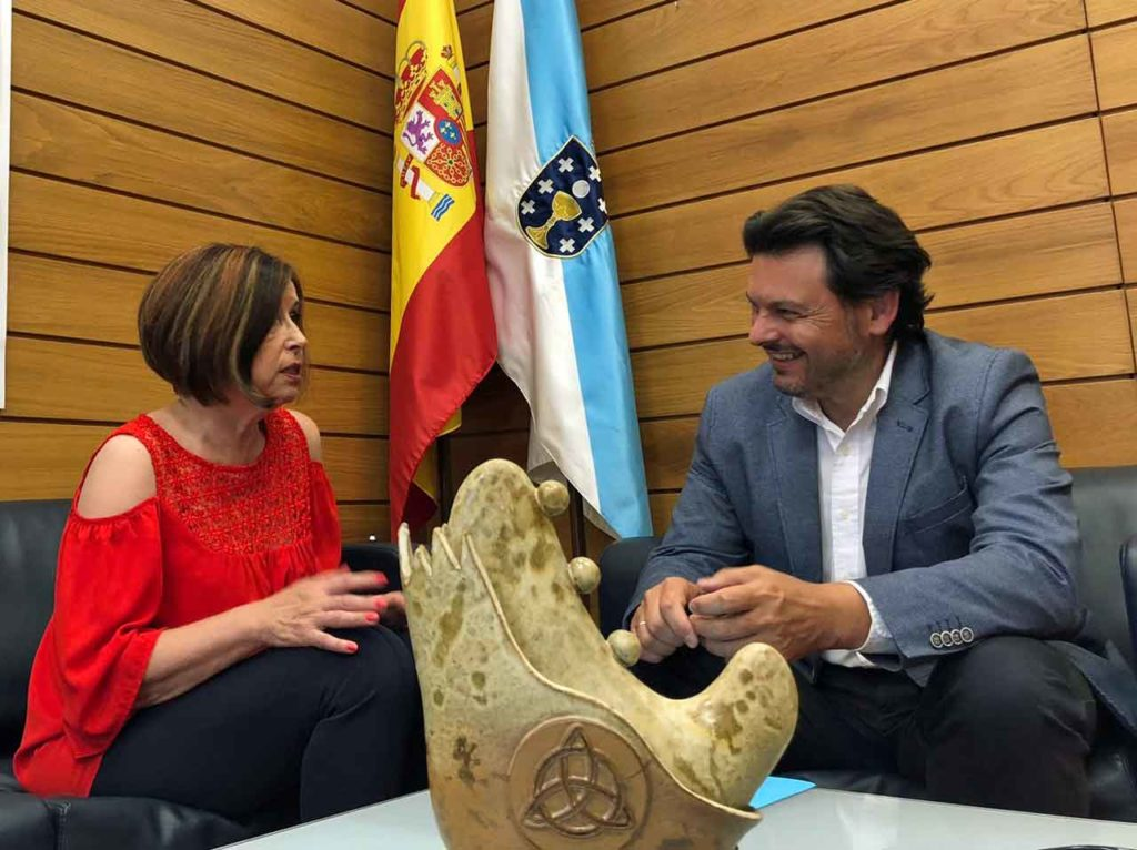 Pilar Rodríguez y Antonio Rodríguez Miranda.
