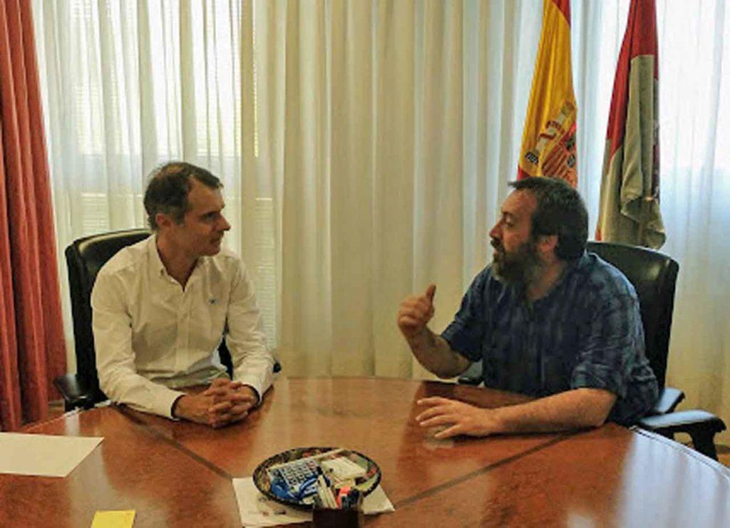 José Manuel Herrero y Tomás García.