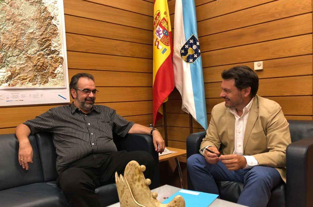 Eduardo Pahino y Antonio Rodríguez Miranda.