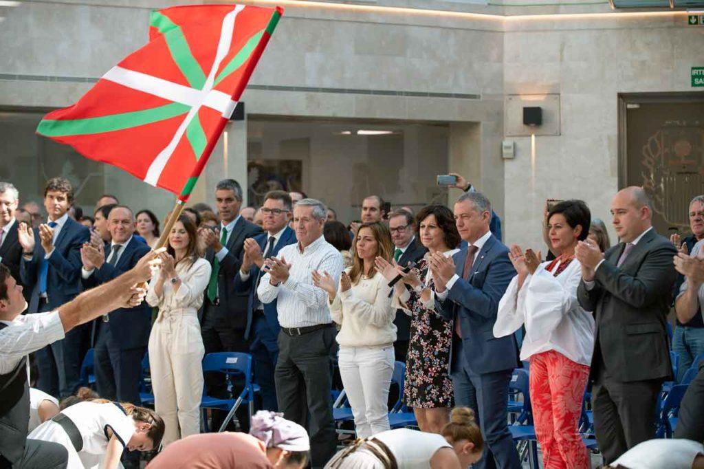Íñigo Urkullu presidió los actos del Día de la Diáspora Vasca que se celebraron por primera vez el pasado 8 de septiembre.