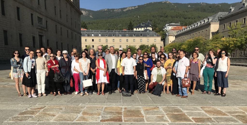 Asistentes al XII Congreso de la Asociación Internacional de Estudos Galegos (AIEG).