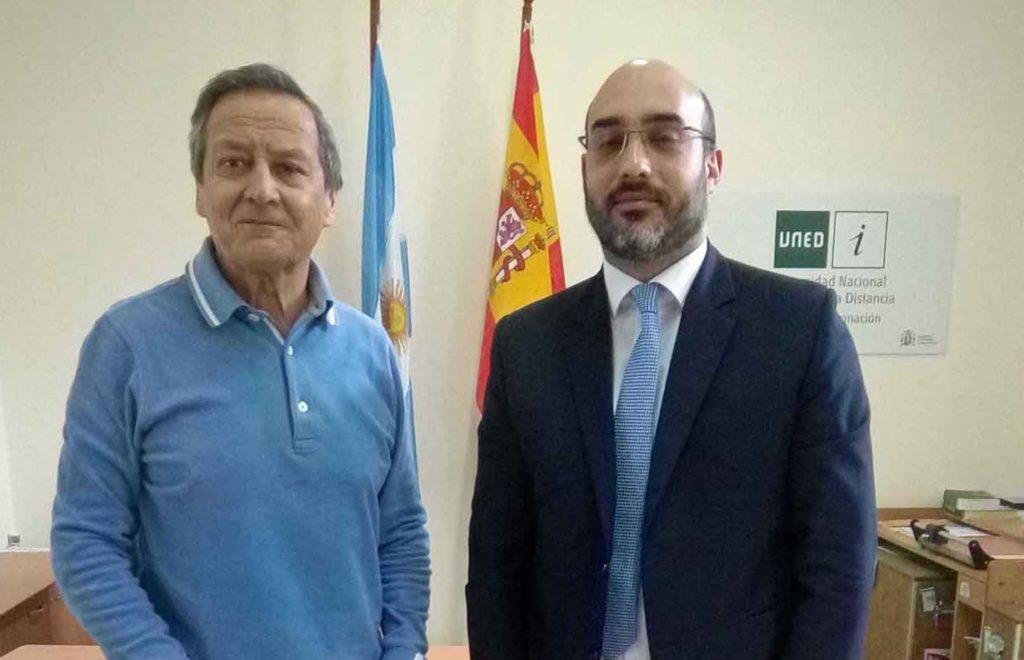 Juan Carlos Herner y Diego Santiago Rivero.