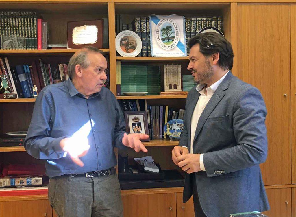 Carlos Ameijeiras y Antonio Rodríguez Miranda.