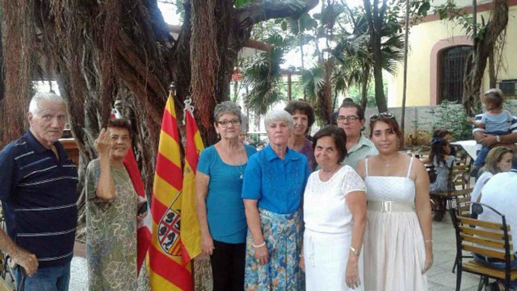 Directiva de la Sociedad Aragonesa de Beneficencia de Cuba.