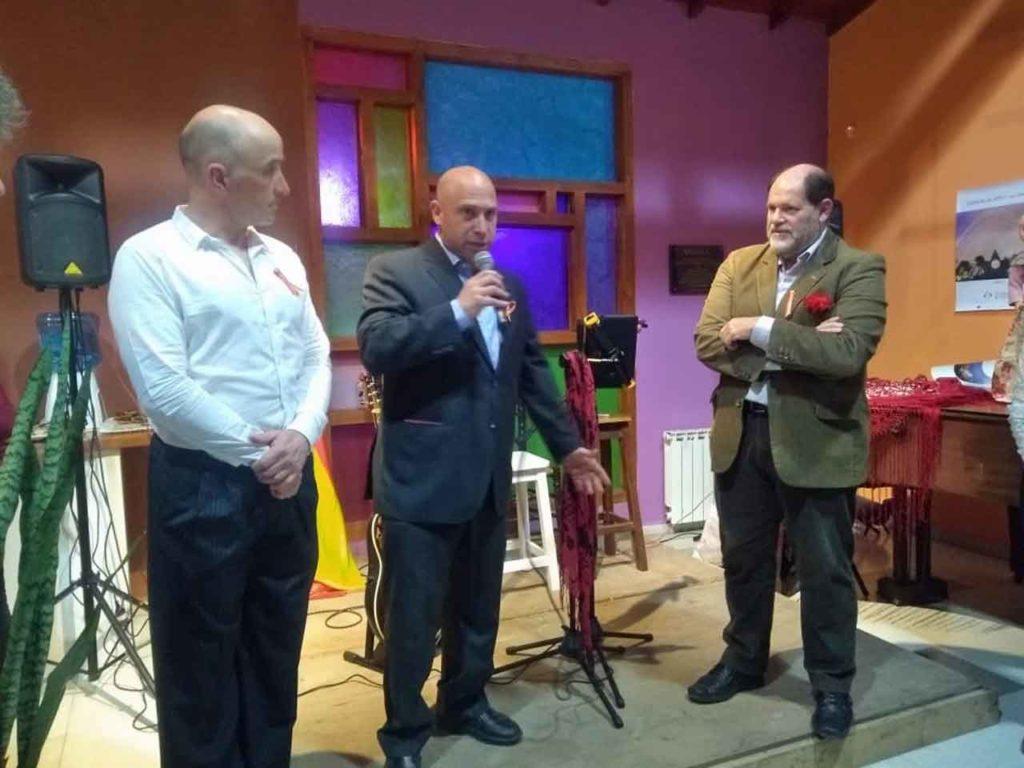 Guillermo Friedrich, Pablo Puertas Sabasta y Sergio Daniel Favot.