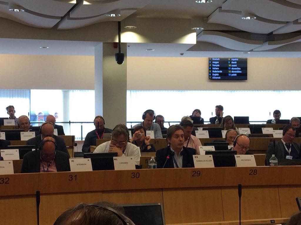 El director xeral de Relacións Exteriores e coa UE, Jesús Gamallo, participó en la reunión de la Comisión de Recursos Naturales del CdR en la que se debatió la comunicación de la Comisión Europea sobre la transformación digital de la salud.