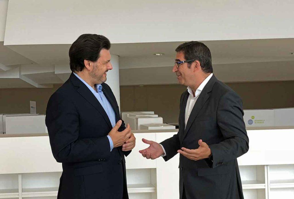 Antonio Rodríguez Miranda y Antonio Rodríguez Corral.