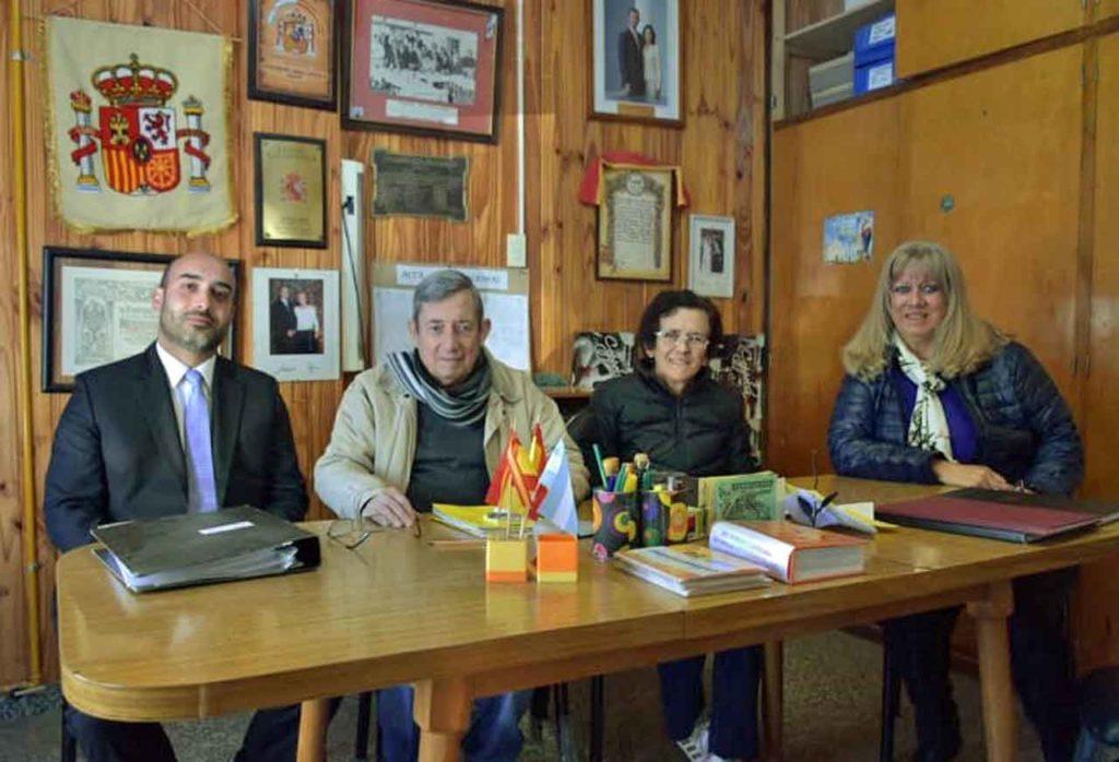 Diego Santiago Rivero, Carlos Malbárez, Virginia Bulacio y María Elena García Arnau.