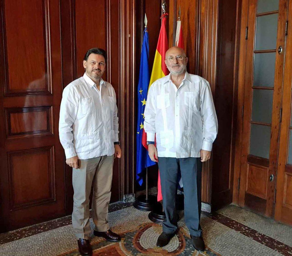 Antonio Rodríguez Miranda y Juan Fernández Trigo.