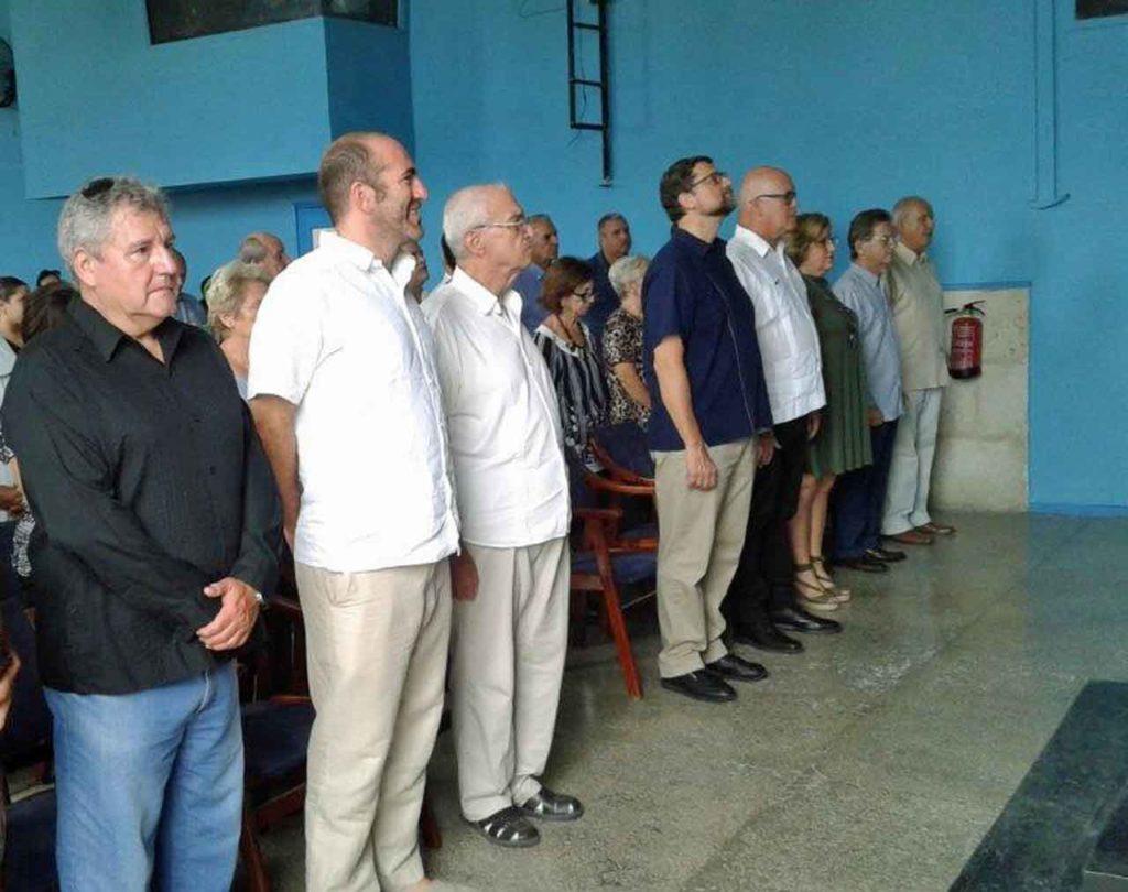 Rafael Garbajosa, Jorge de Peralta, Julio Santamarina, Juan José Buitrago y Sergio Toledo.
