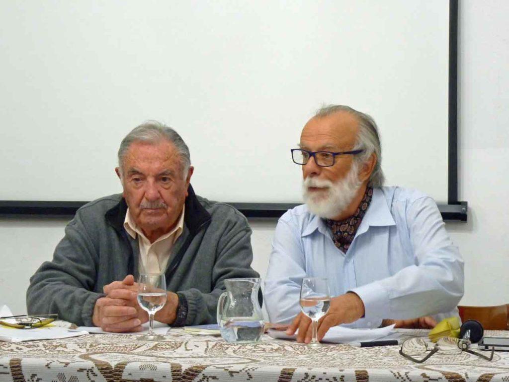 Pepe Sánchez y Carlos Espinosa.