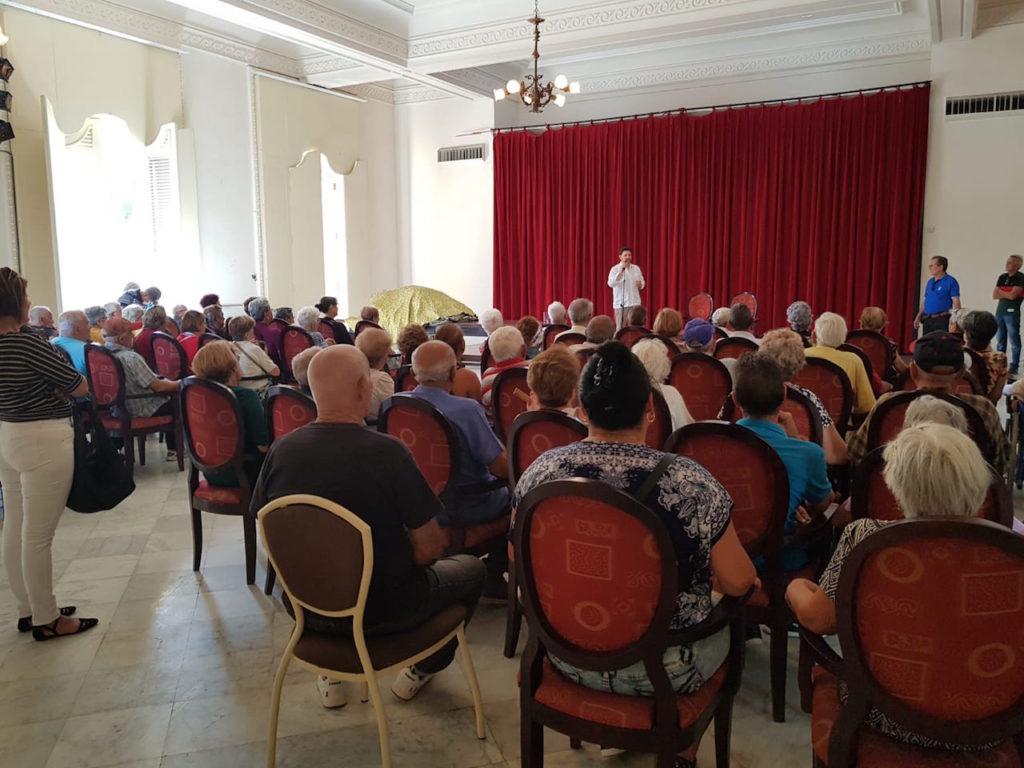 Intervención del secretario xeral da Emigración en su encuentro con miembros de la colectividad gallega en el país.