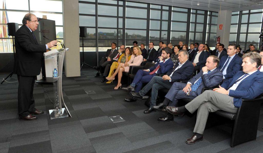 El presidente de la Junta, Juan Vicente Herrera, presentó los resultados del Plan de Crecimiento Innovador de las empresas de Castilla y León (2017-2020).