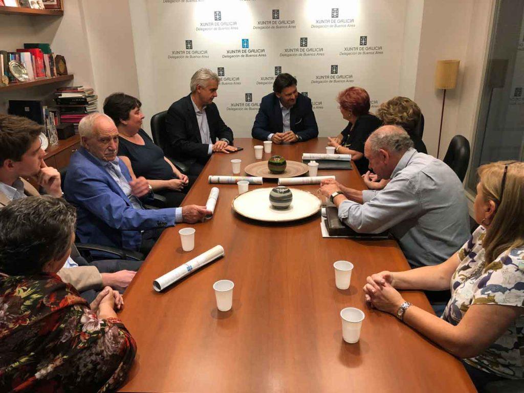 Reunión con el Consejo de Residentes Españoles (CRE) de Buenos Aires.