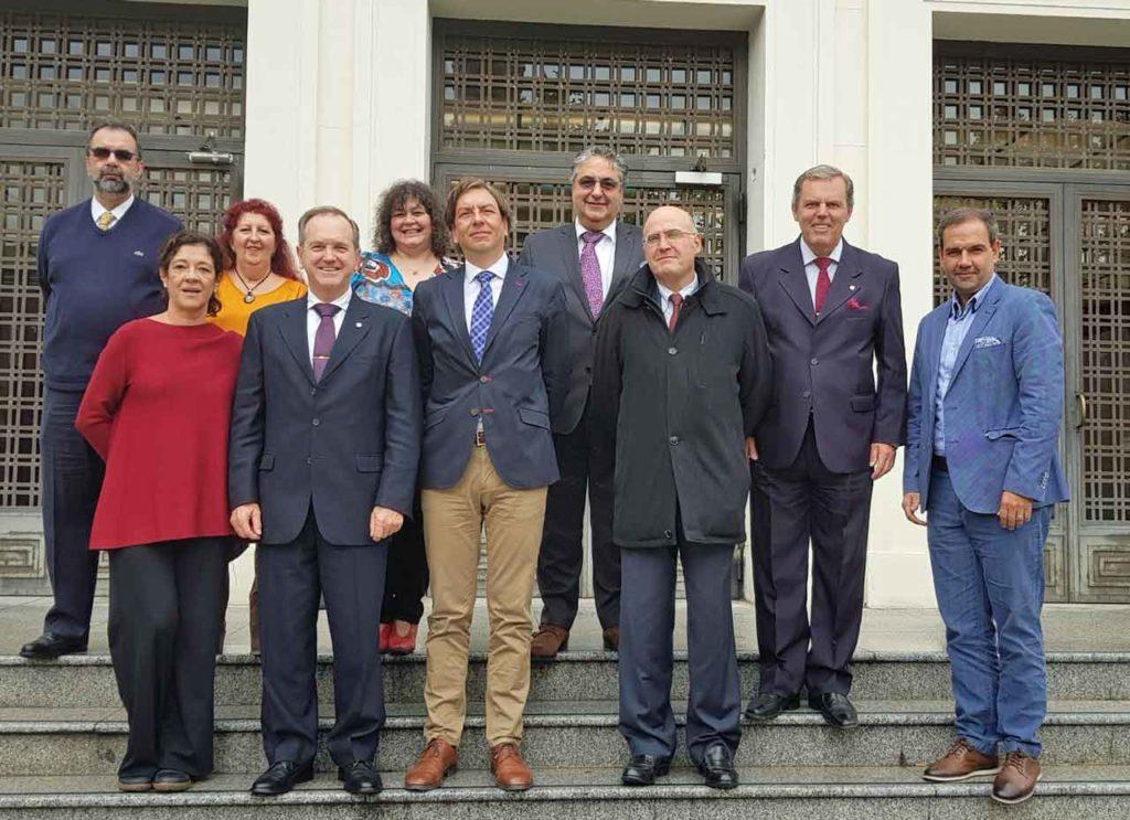 Asistentes a la reunión de la Comisión Permanente del CGCEE.