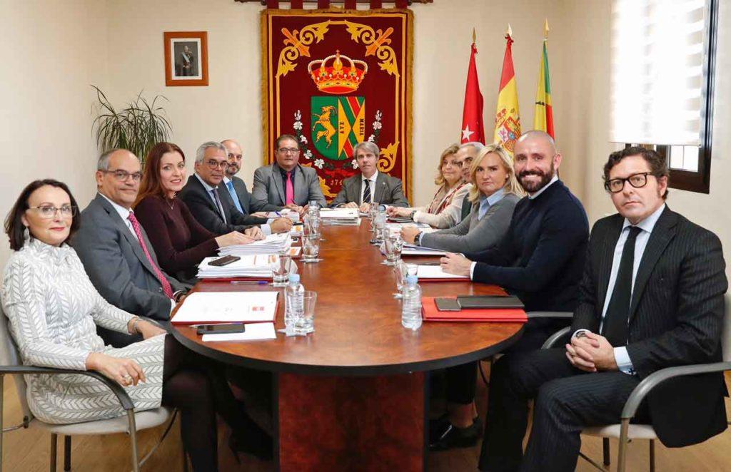 Reunión del Consejo de Gobierno de la Comunidad de Madrid del pasado 6 de noviembre.