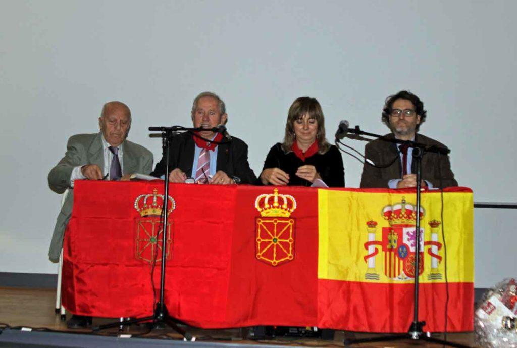 Pedro Ardoy, José María Oliver, Ana Ollo y Gil Ramos.