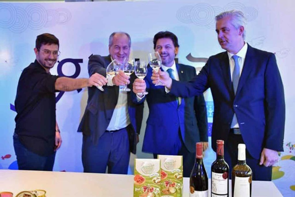 Javier Gago, Ernesto Murro, Antonio Rodríguez Miranda y Alejandro López Dobarro.