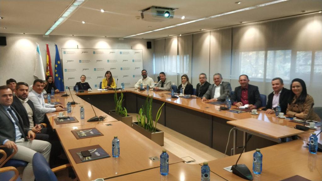 Representantes del Igape se reunieron con una delegación de empresarios del sector textil de este país, que visitaba esos días Galicia con el objetivo de ampliar las relaciones económicas.
