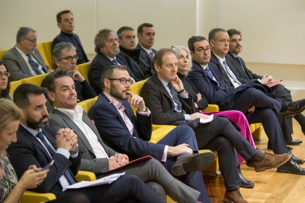 El director del Igape, Juan Cividanes, asistió al encuentro Galicia Global.