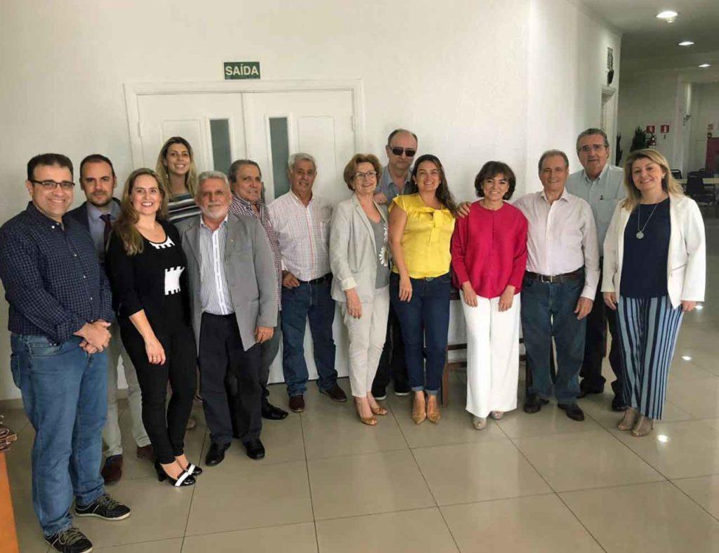 Asistentes a la reunión del CRE de Sao Paulo.