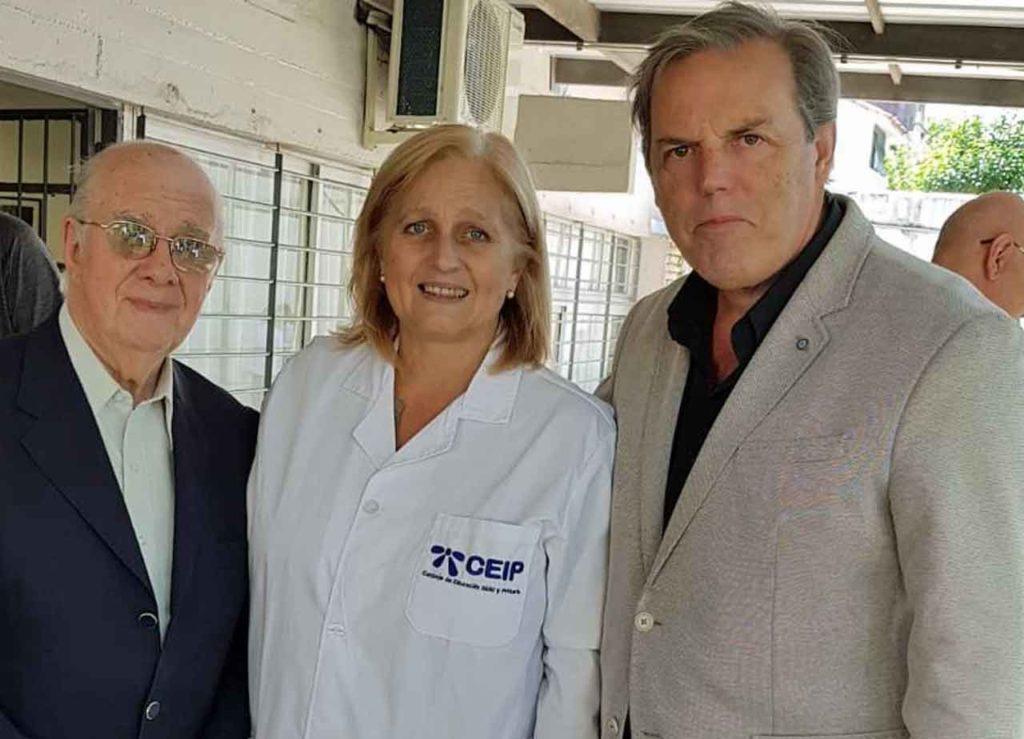 Manuel Losa, Blanca Frugoni y Jorge Torres.