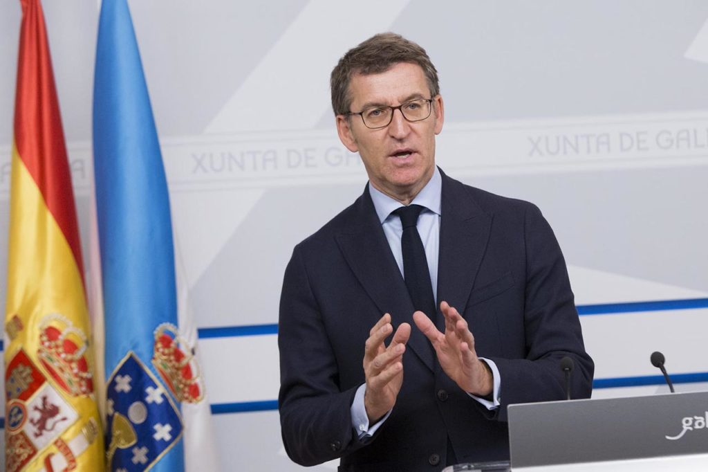 Núñez Feijóo explicó la postura de la Xunta ante el proyecto de Presupuestos Generales.