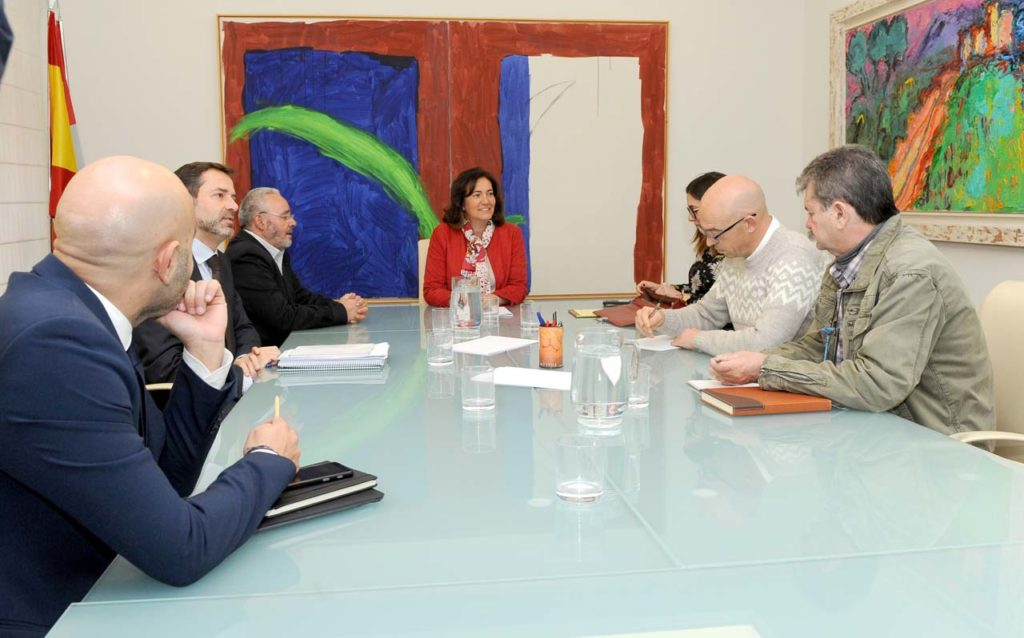 La consejera de Cultura y Turismo, María Josefa García Cirac, presidió la reunión.