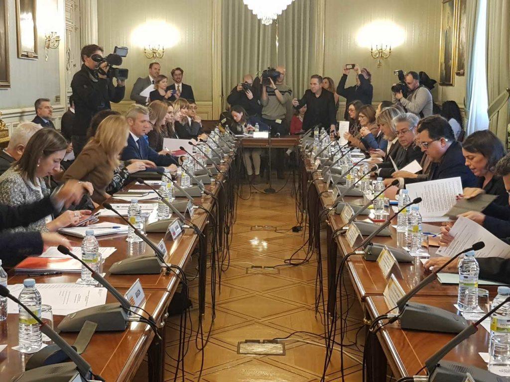 El vicepresidente de la Xunta, Alfonso Rueda, participó en Madrid en la reunión del pleno de la Conferencia para Asuntos Relacionados con la Unión Europea (Carue).