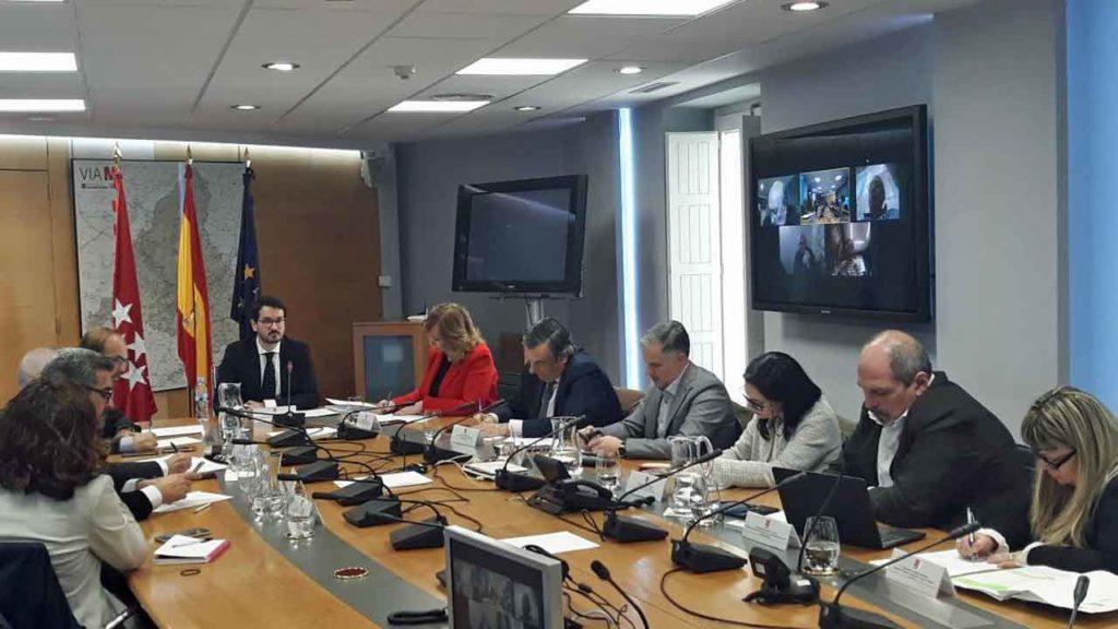 Ignacio Javier García Gimeno presidió la reunión del Consejo de la Emigración y el Retorno.