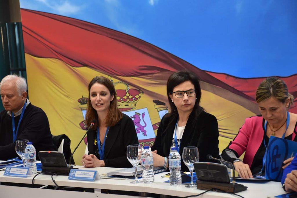 Intervención de la vicesecretaria de Estudios y Programas del Partido Popular, Andrea Levy, ante el Consejo de Españoles Residentes en el Exterior.