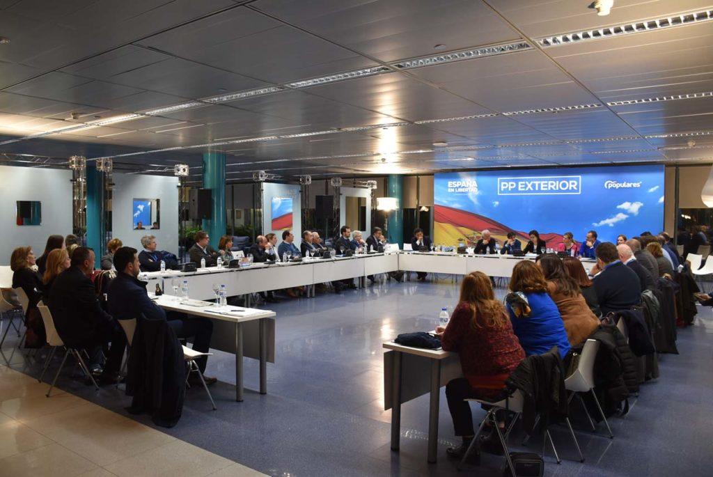 Imagen de la reunión del Consejo de Españoles Residentes en el Exterior.