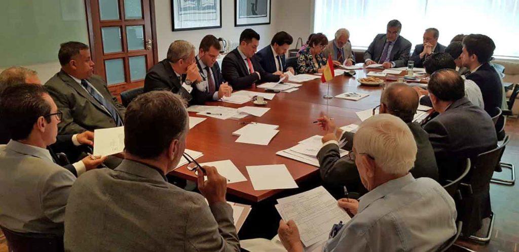 Reunión del patronato de la Fundación España Salud.