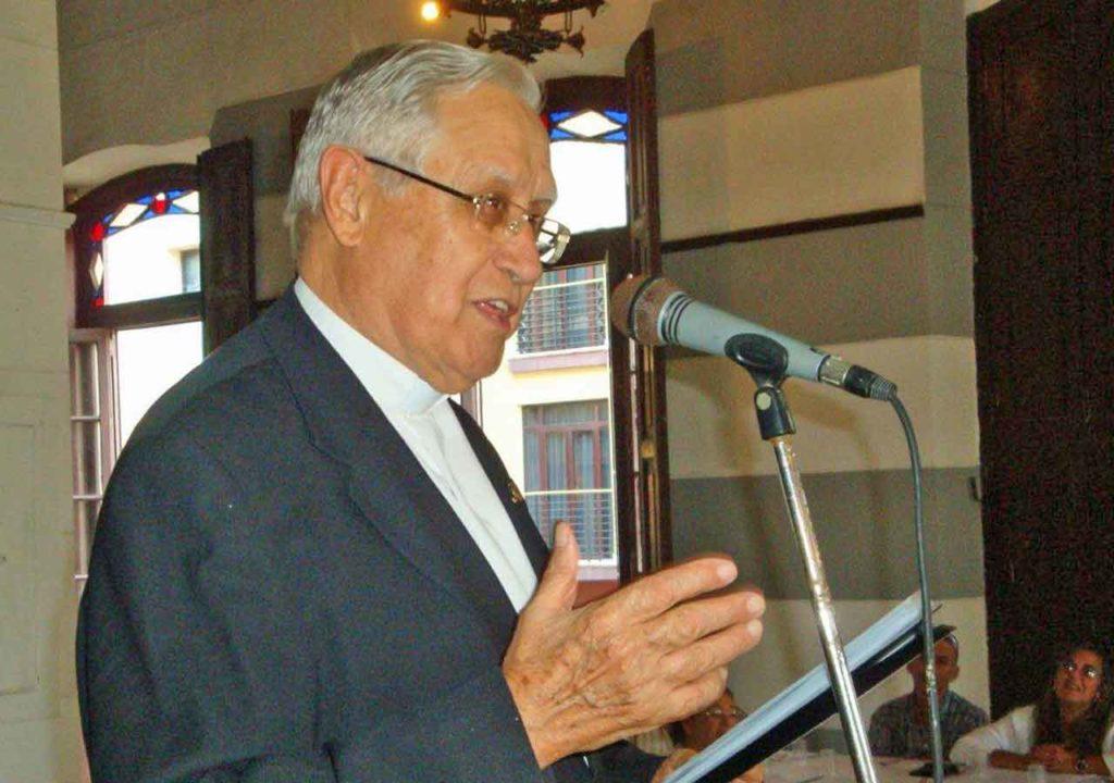 La Ascyl rinde homenaje en La Habana al padre Manuel Uña