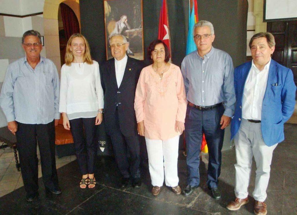 José Rubiera, Nuria Reigosa, Manuel Uña, María Antonia Rabanillo, René González Barrios y Juan Andrés Blanco.