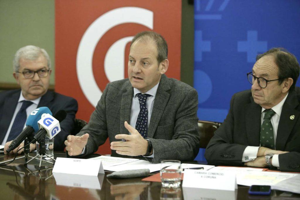 El director del Igape presentó los últimos datos del comercio exterior gallego.