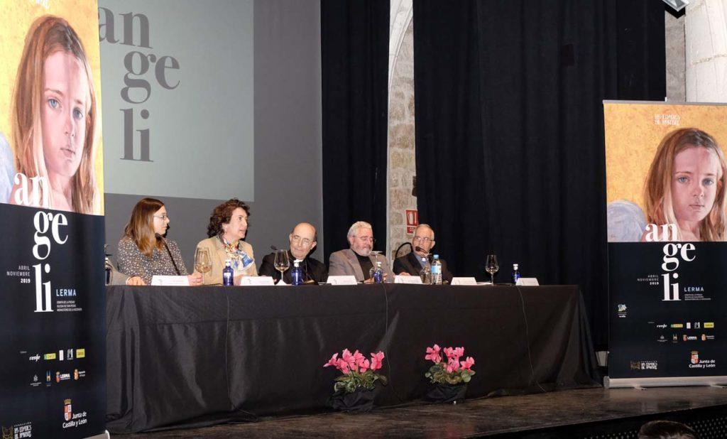 La consejera María Josefa García Cirac presentó en Lerma el nuevo proyecto expositivo.