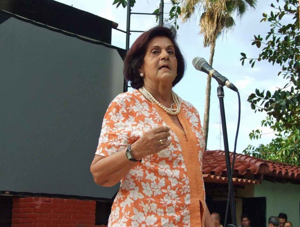 La presidenta del CRE de La Habana, María Antonia Rabanillo.