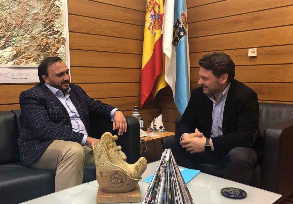 Antonio Sánchez y Antonio Rodríguez Miranda.