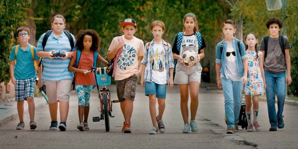 Imagen de la película Los futbolísimos.